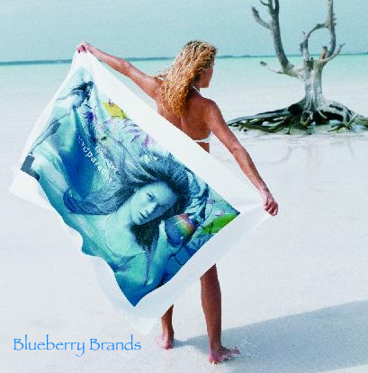 "Picture of Deluxe Weight 35"" x 60"" Beach Towel, Promotional Logo Deluxe Weight 35"" x 60"" Beach Towel."