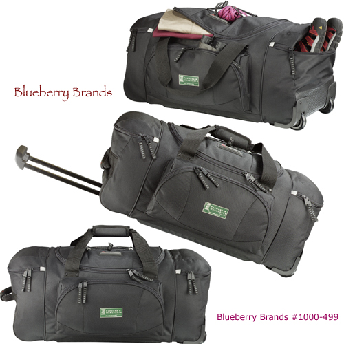 "Picture of High Sierra 26"" Wheeled Duffel, Promotional Logo High Sierra 26"" Wheeled Duffel Bag"