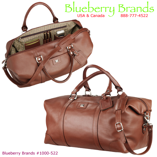 Picture of Cutter & Buck Leather Weekender