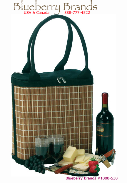 Picture of Jasmine Class Wine & Cheese Tote