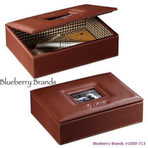 Picture of Cutter & Buck Dresser-Top Photo Box, Promotional Logo Photo Box