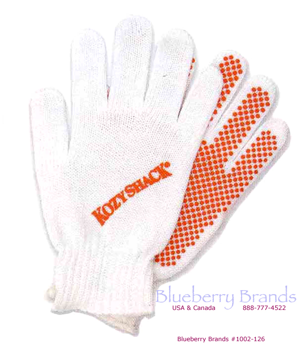 Picture of Standard-Weight Cotton Acrylic-Blend Knit Gloves, Custom Imprinted Work Gloves