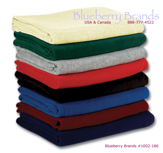 Picture of Logo Fleece Blanket, Promotional Fleece Blanket