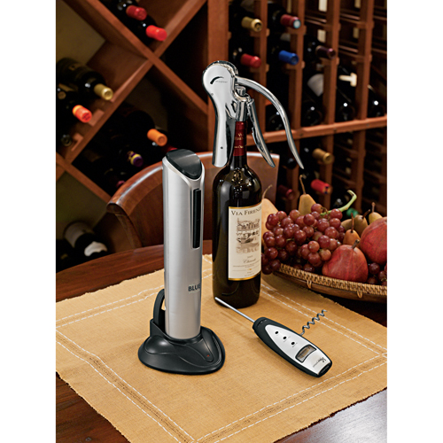 Picture of Veneto Digital Wine Thermometer with Corkscrew
