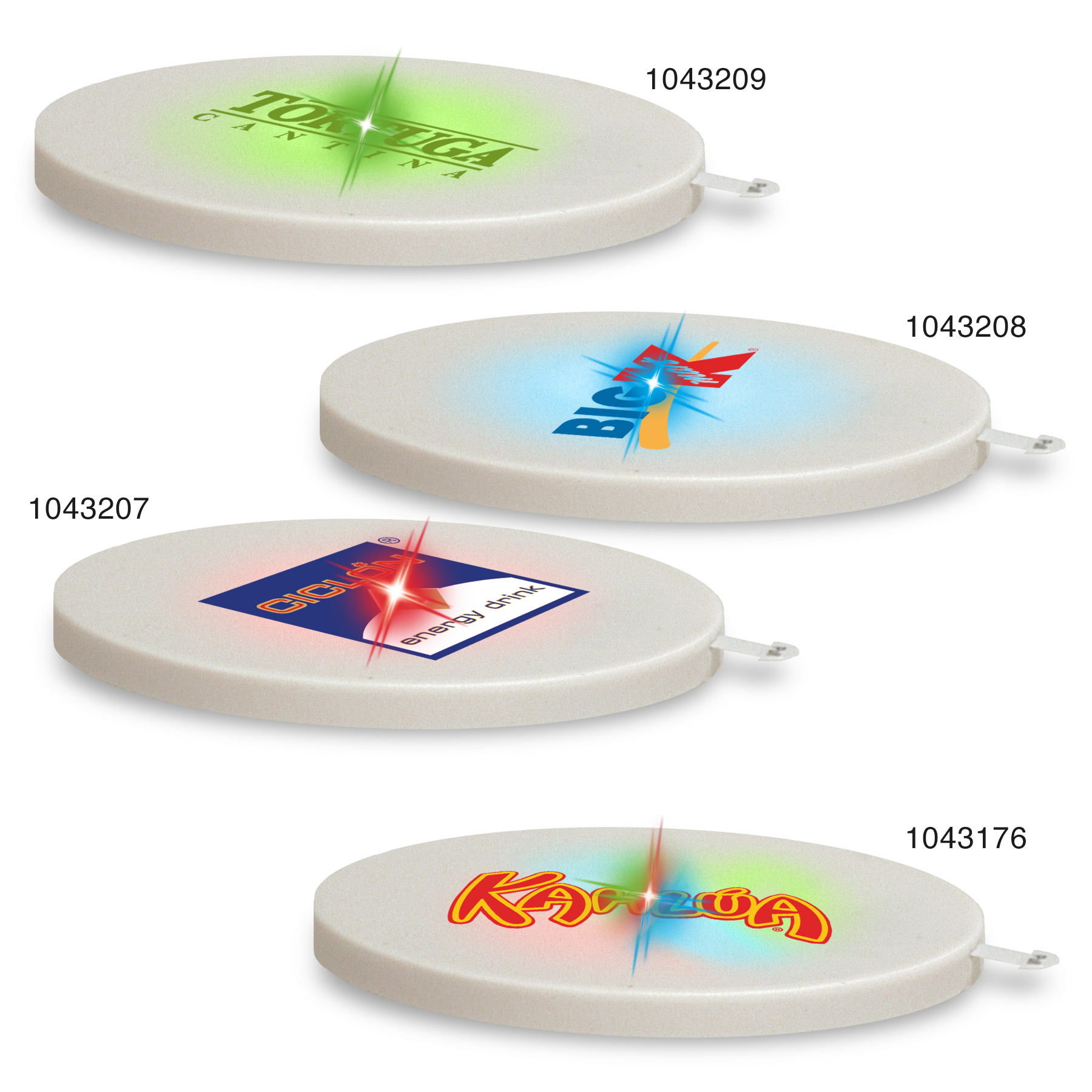 Picture of Light Up Glowcoaster, Promotional Logo Light Up Glowcoaster