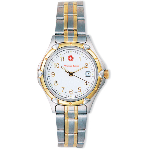 Picture of Wenger Womens Standard Issue 2-Tone Bracelet Watch