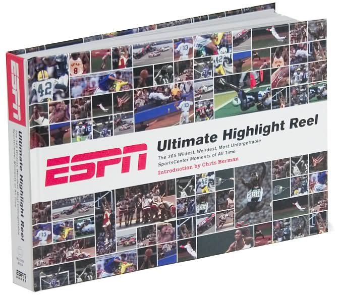 Picture of Sports Book: ESPN Ultimate Highlight Reel, Promotional Logo Sports Book