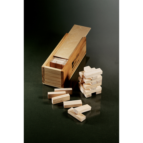 Picture of Tumbling Tower Wooden Block Game