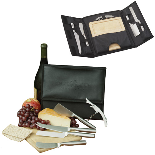 Picture of The Cosmopolitan Wine & Cheese Set