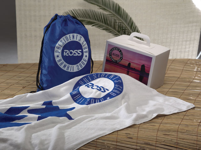Picture of Beach Towel & Backpack, Promotional Logo Beach Towel & Backpack