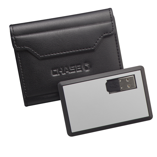 Picture of USB Slim Memory Card w/Card Holder 256MB