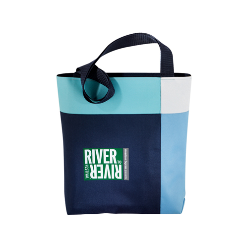 Picture of Block Party Convention Tote, Promotional Logo Block Party Convention Tote