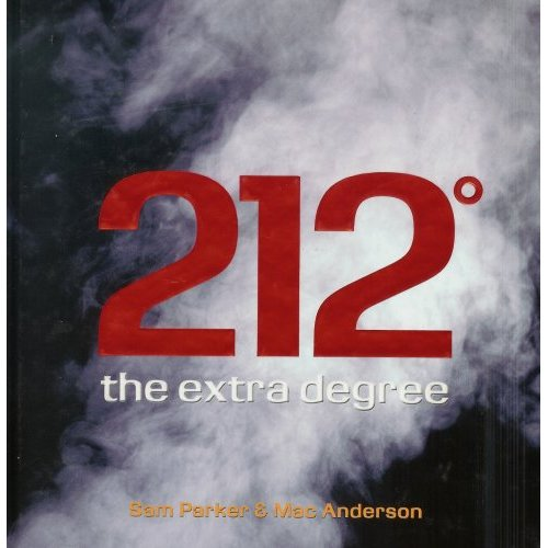 Picture of Business Bestsellers: 212° the extra degree