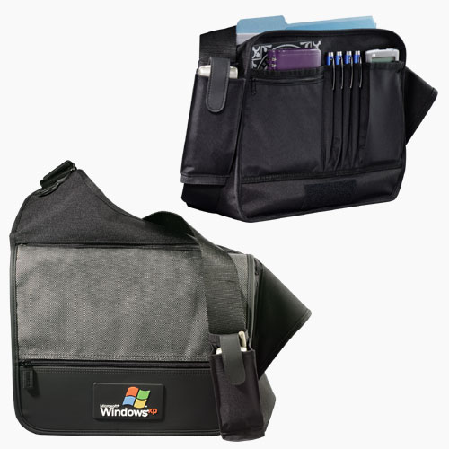 Picture of MicroTek Messenger Bag, Promotional Logo Messenger Bag