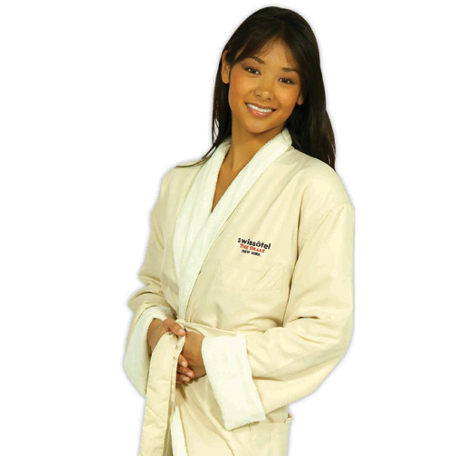 Picture of Shawl Collar Robe, Custom Embroidered Shawl Collar Robes