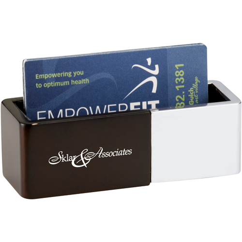 Picture of Futura Business Card Holder, Promotional Logo Business Card Holder