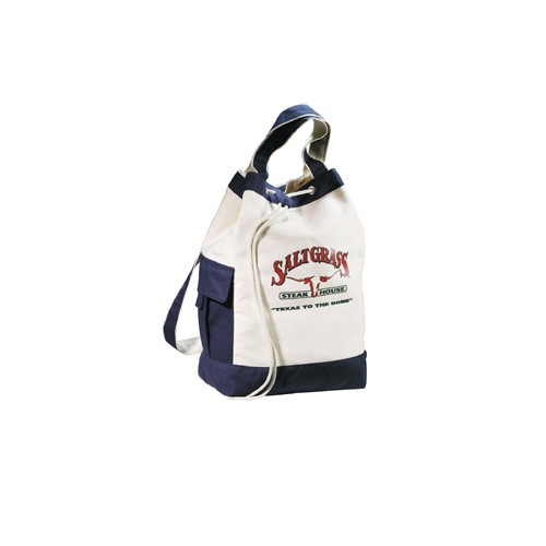 "Picture of Classic Cotton 17"" Drawstring Duffel"