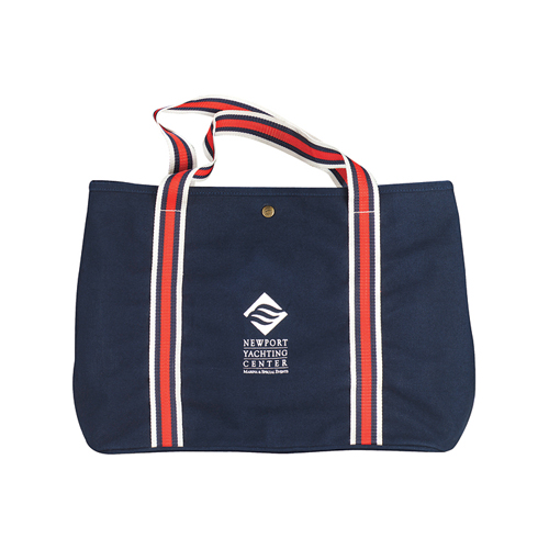 Picture of Nautical Cotton Tote, Promotional Logo Nautical Cotton Tote