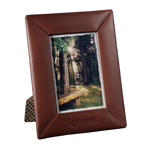 Picture of Cutter & Buck 4 x 6 Executive Photo Frame, Promotional Logo Exec Photo Frame