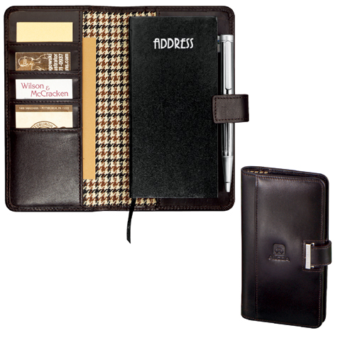 Picture of Cutter & Buck Executive Address Book, Promotional Logo Executive Address Book