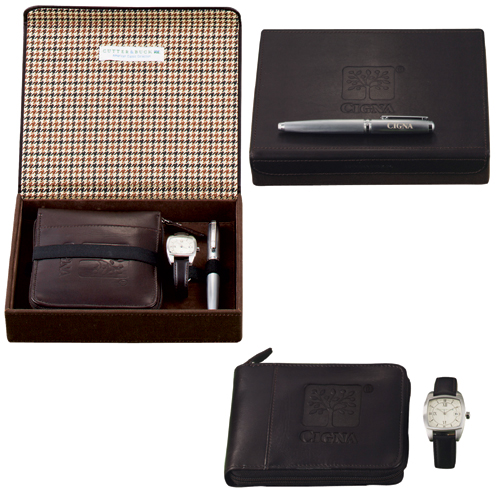 Picture of Cutter & Buck American Classic Watch Set, Promotional Logo American Classic Watch Set