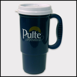 Picture of 16 oz Insulated Auto Mug with Sip Lid, Promotional Logo Auto Mug with Sip Lid