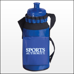 Picture of Bottle Caddie with Bottle, Promotional Logo Bottle Caddie with Bottle