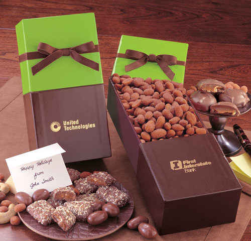 Picture of Delicious Honey Roasted Peanuts & Gift Box