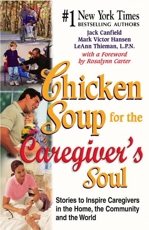 Picture of Gift Book: Chicken Soup for the Caregivers Soul