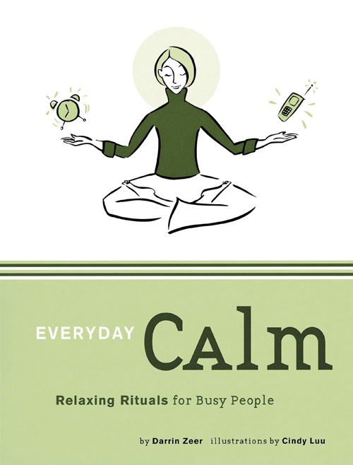 Picture of Gift Book: Relaxing Rituals Series: EVERYDAY CALM