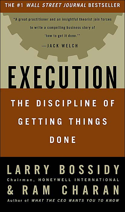 Picture of Business Bestsellers: Execution: The Discipline of Getting Things Done