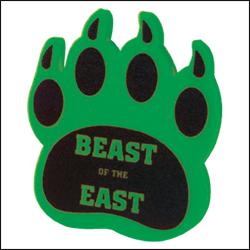 Picture of Cat Claw Cheering Mitt, Promotional Logo Cat Claw Cheering Mitt