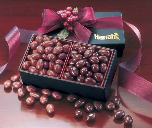 Dark & Milk Chocolate Almonds Gift Box