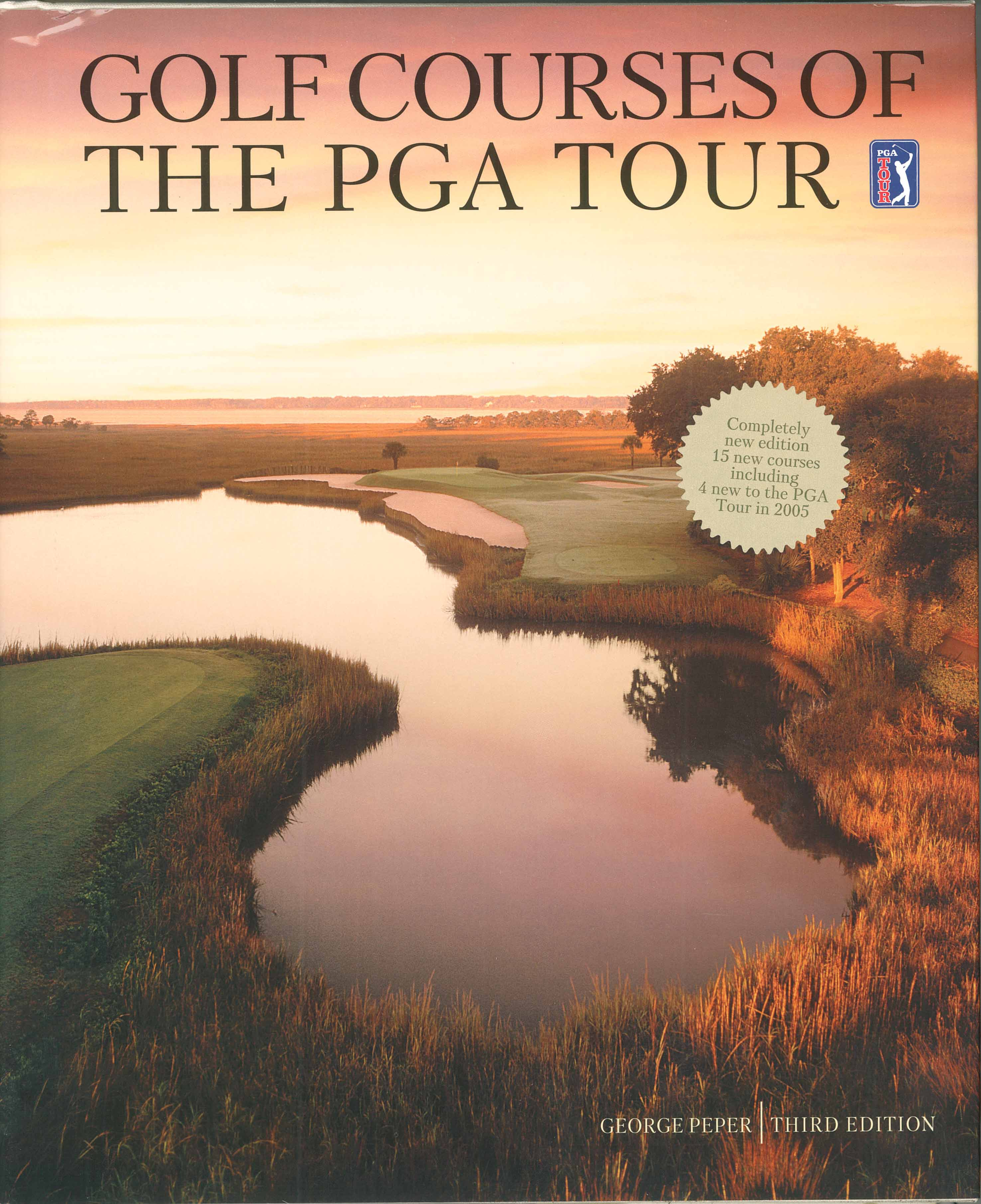 Picture of Gift Book: Golf Courses of the PGA Tour, Promotional Logo Gift Books