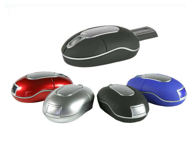 Picture of Wireless Mouse with Built in Receiver, Promotional Logo Wireless Mouse