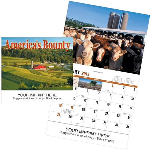 Picture of America's Bounty Calendar, Promotional Logo Americas Bounty Calendars