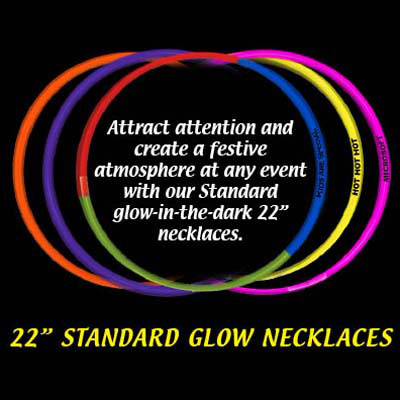 Picture of Standard Glow Necklace, Promotional Logo Glow Necklace