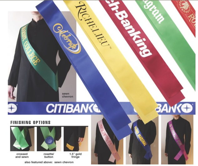 Picture of Imprinted Sashes