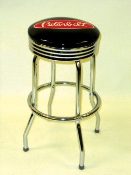 Picture of Upholstered Single Ring Stool, Logo Upholstered Single Ring Stool