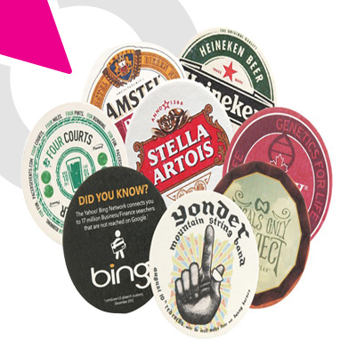 Picture of Imprinted Beverage Coasters Copy