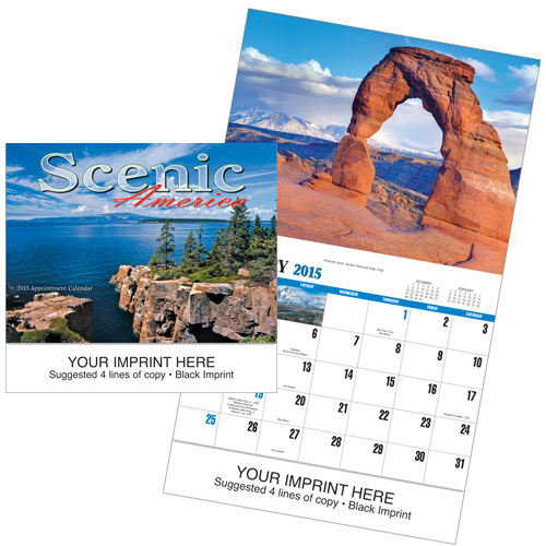 Picture of Scenic America Calendar, Promotional Logo Scenic America Calendar
