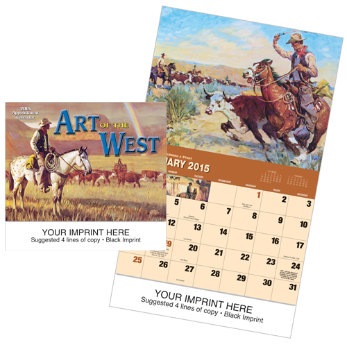 Picture of Art of the West Calendar, Promotional Logo Art of the West Calendar