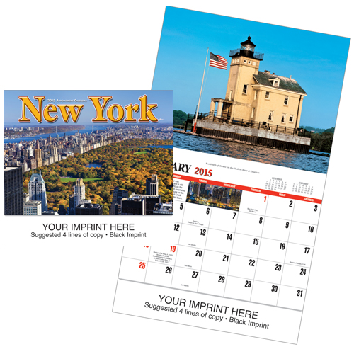 Picture of New York Calendar, Promotional Logo New York State Calendars