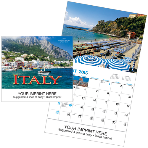Picture of Italy Calendar, Promotional Logo Italy Calendar