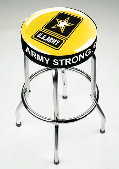 Picture of Upholstered Logo Double Ring Stool, Logo Upholstered Double Ring Stool Copy