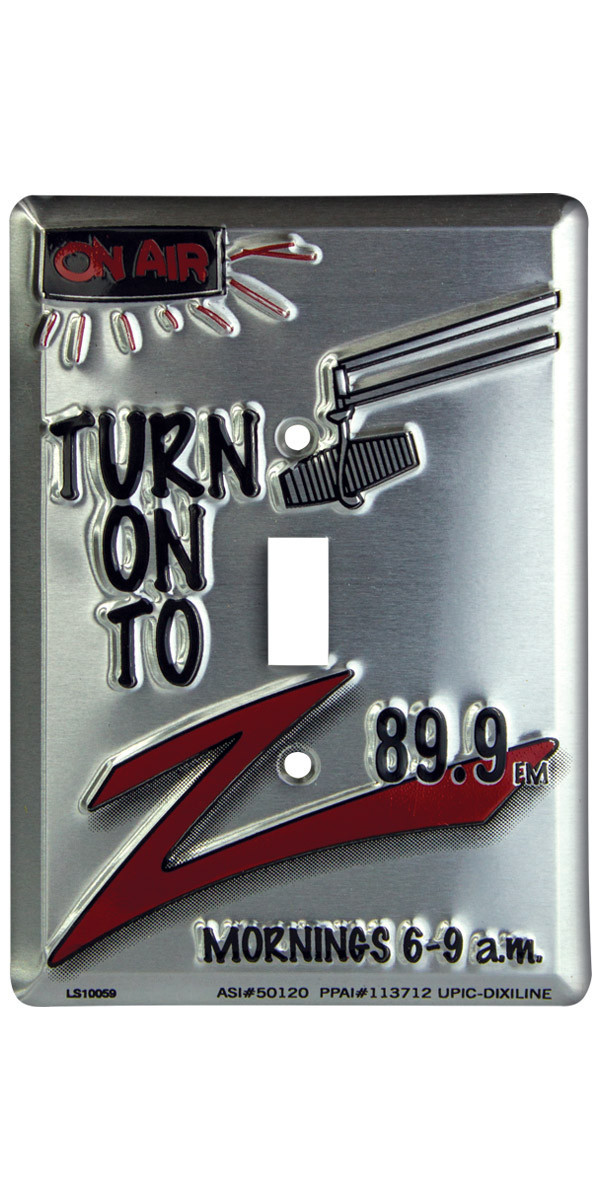 Picture of SINGLE SWITCH PLATES, Promotional SINGLE SWITCH PLATES