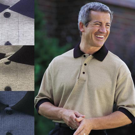 Picture of Men's Satin Stitch Sport Shirt