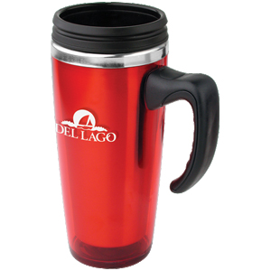 Picture of 16 oz Translucent Travel Mug, Promotional Logo 16 oz Translucent Travel Mug