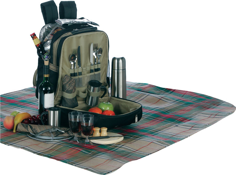 Picture of Newbury Class 2 Person Picnic Sets, Promotional Logo Newbury 2 Person Picnic Set