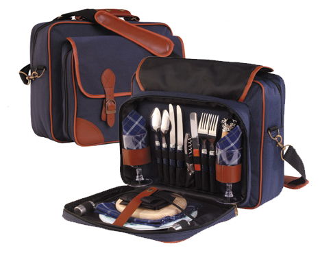 Picture of Wellfleet Class - 2 Person Picnic Sets, Promotional Logo Wellfleet 2 Person Picnic Set